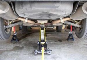 Pipe Jack Stands >> 1996-2003 Toyota Camry Solara Avalon Lexus ES300 Front ...