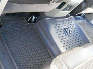 2009 2012 Dodge Ram 1500 2500 3500 Longhorn Rubber Floor