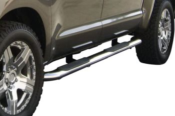 2015 2018 Ford F 150 5 Quot Oval Side Step Nerf Bars Rail