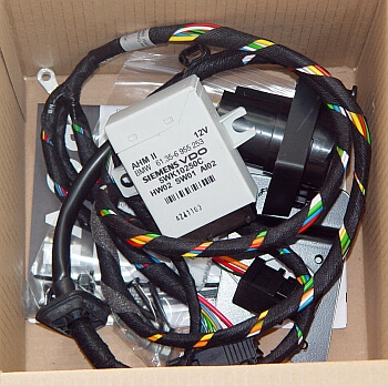 Land Rover Range Rover Genuine Towing Hitch Harness Wires Kit Set on Range Rover Trailer Hitch Kit