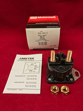 Yaw Rate Sensor >> 1984-2004 Ford Lincoln Mercury Starter Solenoid Switch ...