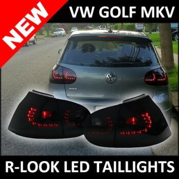 2005-2010 Volkswagen MK5 Golf GTI R32 Rabbit MK6 R-Look Led