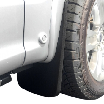 Ford F  Front Rear Mud Flaps Set Wheel Lip Mouldings Flairs