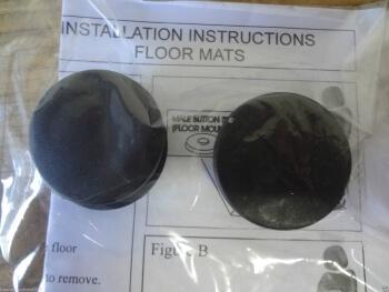 Timing Belt Kit >> BQ6680520 | Mercedes-Benz OEM Black Floor Mat Retention Button Clips - ExactFitAutoParts.com