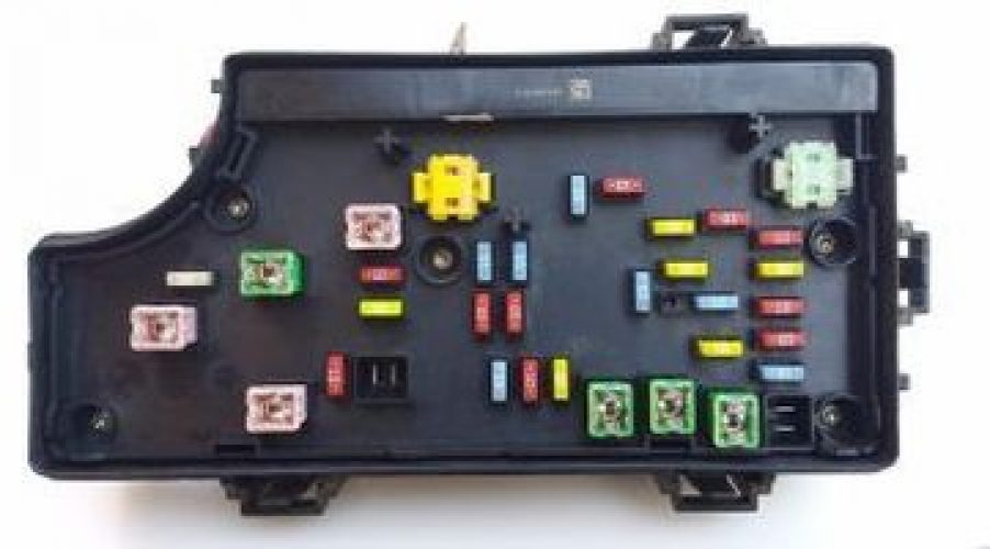Fuse Box In 2007 Jeep Compass : Caliber fuse panel wiring diagram