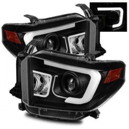 2014 2017 toyota tundra front headlight assembly pair  2014 2017 toyota tundra front headlight assembly pair